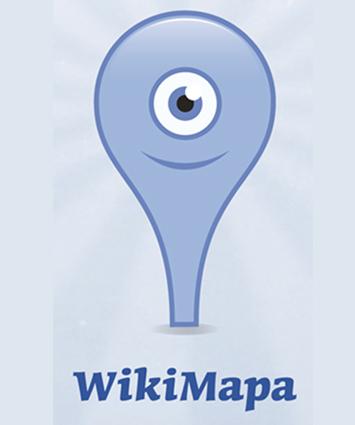 Wikimapa - logo